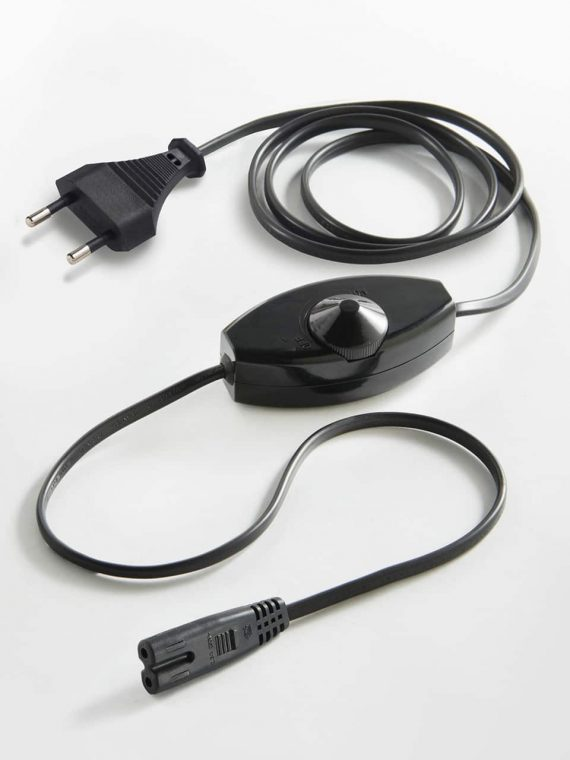 European-power-cable-black